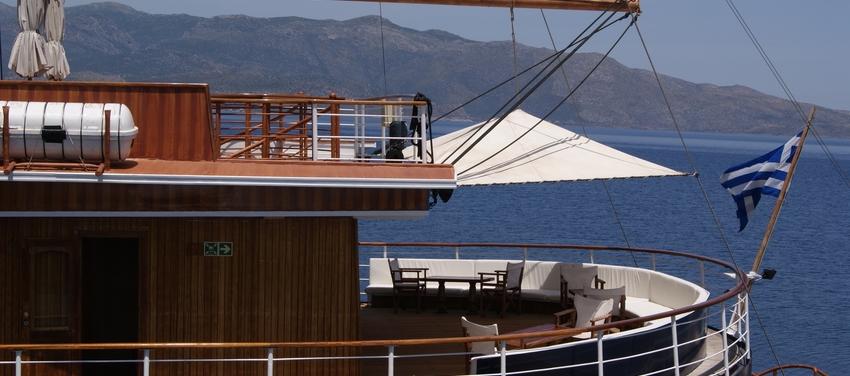 The M/S Galileo sail greece vacation travel tour