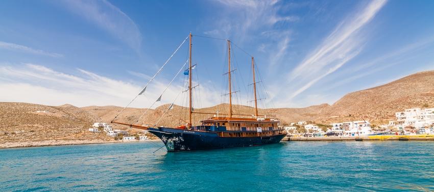 Greece sailing adriatic sea coast ocean ship M/S Galileo