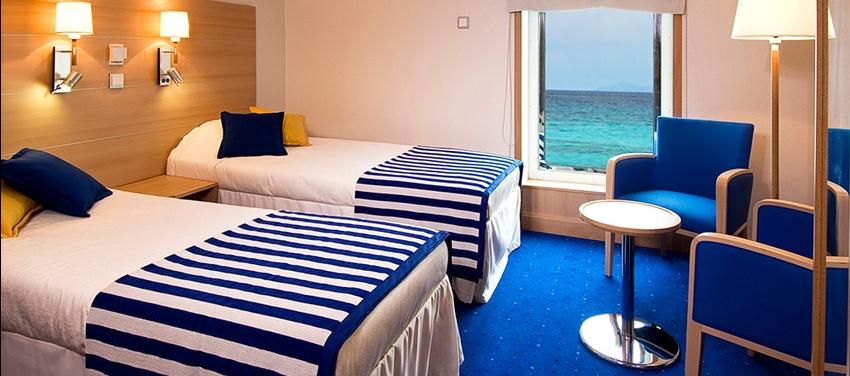Double cabin twin bed La Pinta