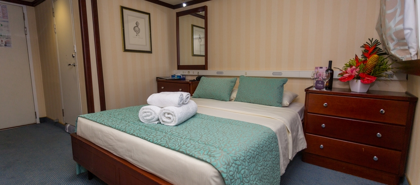 Category A cabin double room M/Y Pegasus suite cruise