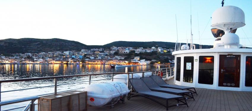 Callisto Sun Deck Yacht Cruise Cuba