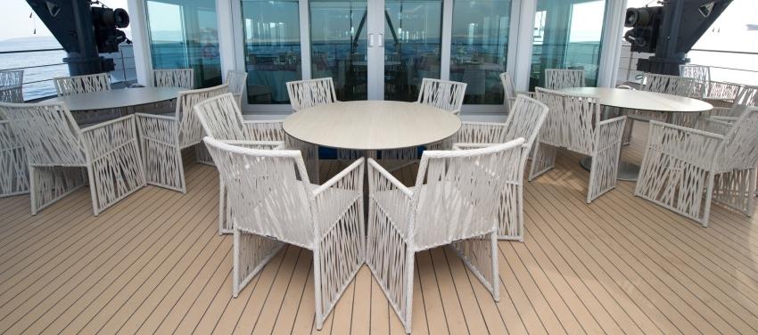 Outdoor lounge patio deck furniture Voyager cuba