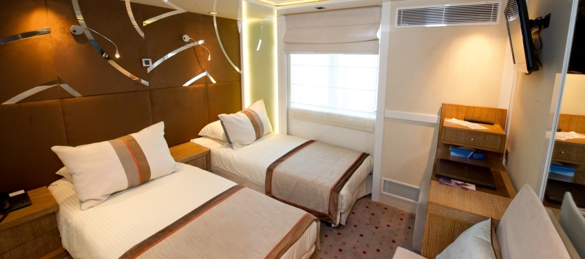 Voyager accommodations category A Cuba Cruise