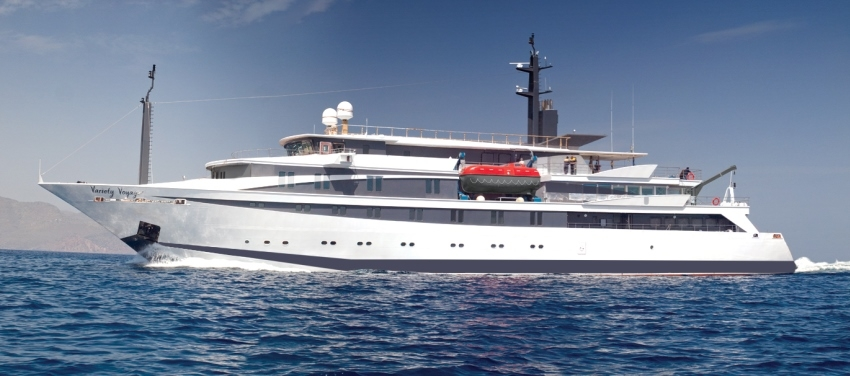 Voyager Exterior Mega Yacht Cuba