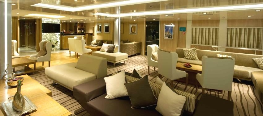 Main Lounge on the Voyager Cuba