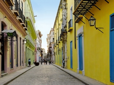 Old Havana Cuba Streets