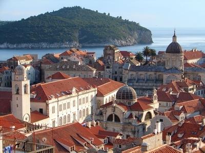 Dubrovnik old city croatia montenegro travel tour architecture