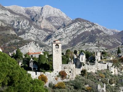 old town montenegro bosnia croatia Dalmatia travel tour mountains scenic view