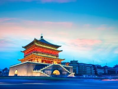 Ancient Xian bell tower
