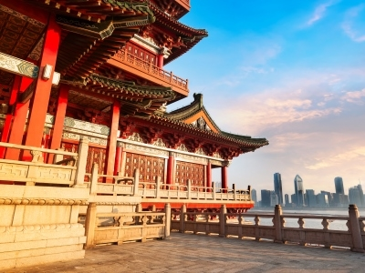 Beijing, China and the Forbidden City