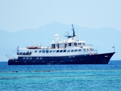 Callisto Mega Yacht Cruise Sail Boat Cuba Caribbean