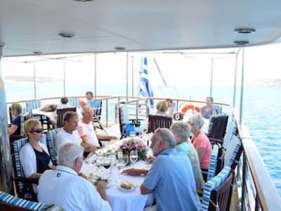 Day at Sea Callisto outdoor dining