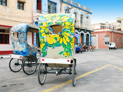Camaguey Bici-taxis