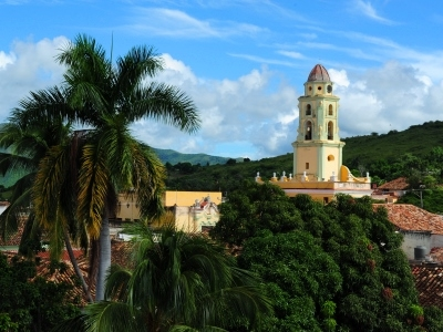 church trinidad cuba landscape
