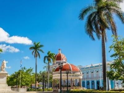 Cienfuegos, Cuba Jose Marti Central Park