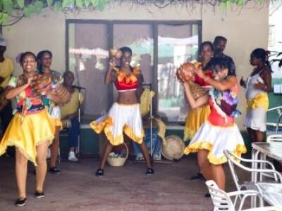 Performers in Cienfuegos Cuba