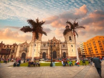 Colonial Lima, Peru.400x300