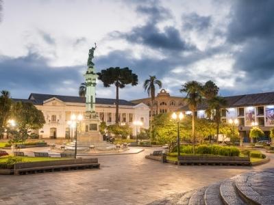 Colonial Quito, Ecuador.400x300