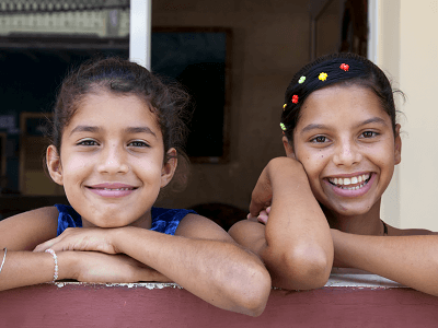 Cuban Children Smiling
