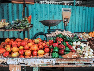 Farmer's Market in Havana Cuba