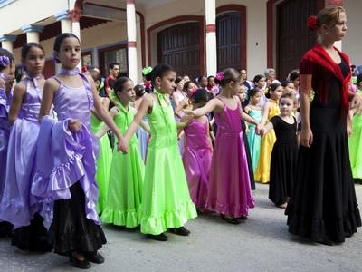 Kids in Havana Cuba