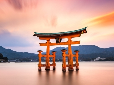 Floating gate of Itsukushima, Shrine, Miyajima