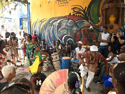 Hamel's Alley Rumba Dancers