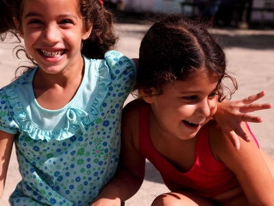 Cuban Children in Havana, Cuba