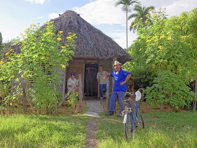 Local farmers will take you on a tour of the Pinar del Río, Cuba