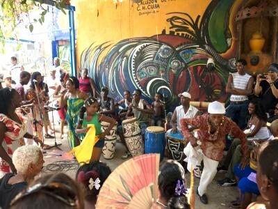 Havana, Cuba Callejon de Hamel Performers