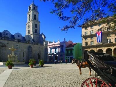 Old Havana cuba plaza san francisco travel wanderlust UNESCO World Heritage site