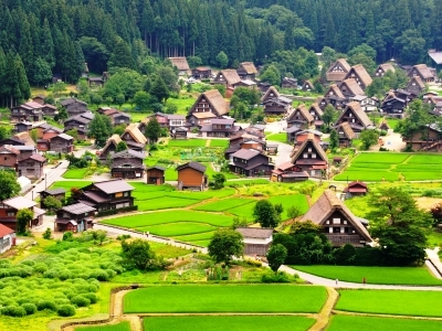 Historical Japanese Village - Shirakawago