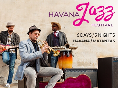 Havana Jazz Festival six days five nights tour music cuba instruments musical