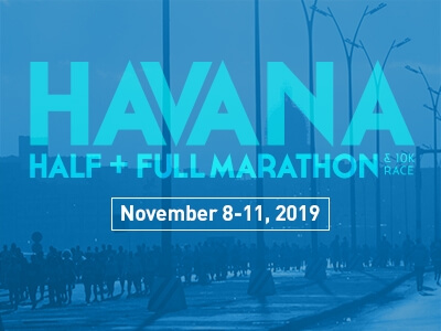 Havana Marathon run half full 10K