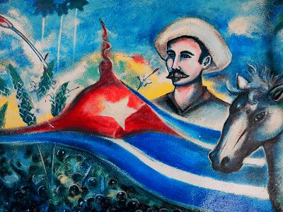 Mural Havana Cuba