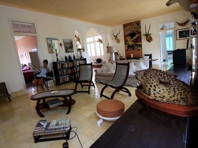 Hemingways Home, Finca Vigia can be seen in Cuba