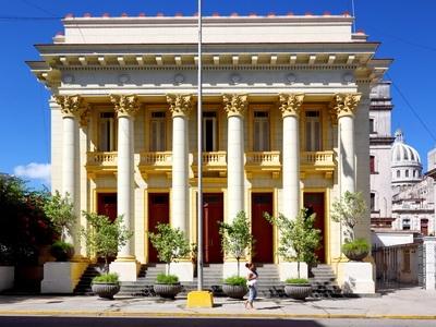Architecture in Old Havana, Cuba.