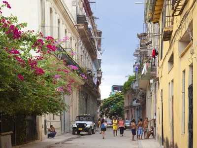 The streets of old Havanna, Cuba