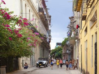 The streets of old Havanna, Cuba