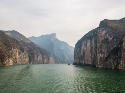 Qutang Gorge on the Yangtze River, Three Gorges