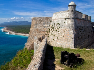 Santiago de Cuba Castillo de Moro Ocean View