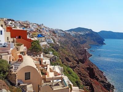 Santorini Greece travel cyclades vacation city beautiful tour sail