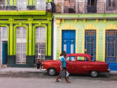 The colourful streets of Havana, Cuba