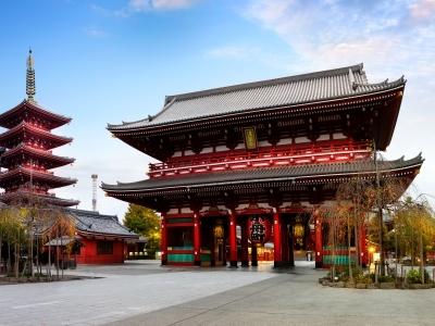 Sensou-ji temple, Tokyo Japan