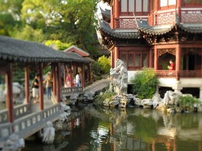 Shanghai, Yu Yuan gardens