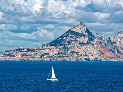 Rock of Gibraltar Spain travel sea ocean historic