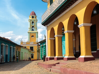 Trinidad Cuba travel architecture luxury vacation trip guided tour people to people culture