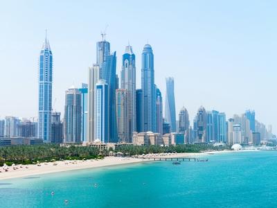 Dubai Skyline Middle East