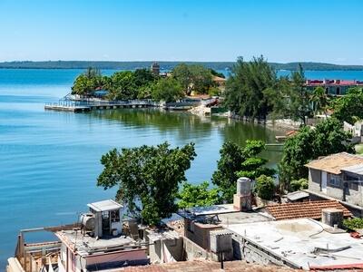 Santiago de Cuba bay travel luxury sail cruise yacht vacation trip wanderlust