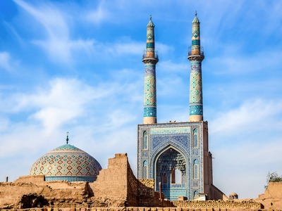 The Friday Mosque Iran Architecture Ancient 15th Century
